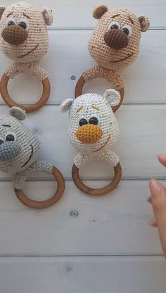 Crochet Baby Toys, Crochet Amigurumi, Crochet Toys Patterns, Amigurumi Patterns, Stuffed Toys Patterns, Crochet For Kids, Crochet Dolls, Baby Knitting, Free Crochet
