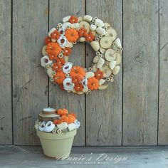 Wreaths For Front Door, Door Wreaths, Moss Wreath, Easter Wreaths, Handmade Home Decor, Topiary, Natural Materials, Dried Flowers, Diy And Crafts