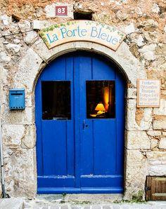 La Porte Bleue by philhaber, via Flickr