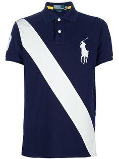 POLO RALPH LAUREN - Camisa polo azul marinho. 1 Polo Ralph Lauren, Camisa Polo, Polo Shirt, 1, Mens Fashion, Outfit, Mens Tops, Shirts, Shopping