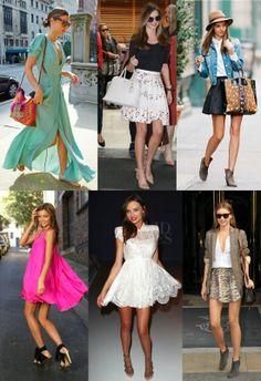 #mirandakerr Flirty feminin style