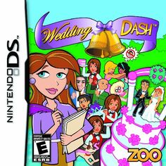 Wedding Dash  Nintendo DS *** Click image for more details.-It is an affiliate link to Amazon. #WeddingGuestBook