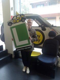EVA PÉREZ!!! #hoyvoy #autoescuela #hospitalet