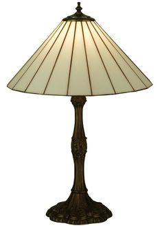 "Meyda 137668 - 26.5""H Duncan White Table Lamp"