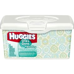 Huggies One & Done Refreshing Baby Wipes, Tub, 512 Total Wipes... ($24) ❤ liked on Polyvore featuring baby, baby stuff, baby things, baby boy and baby girl