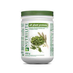 All Plant Protein NUTRILITE apporta proteine di origine vegetale e dalla soia, dal grano e dai piselli, tutto in forma di polvere. Il corpo non è in grado di trattenere le proteine in eccesso, quindi un apporto giornaliero è necessario per assicurare al corpo che vengano mantenuti adeguati i livelli a supporto delle funzioni vitali. All Plant Protein NUTRILITE fornisce proteine di alta qualità, apportando quantità bilanciate dei nove aminoacidi essenziali. Una sola porzione da 10 g contiene…