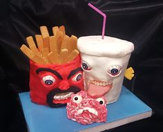 This is my fifth and last cake for this year. As I participated in a recreation of psychiatric full...