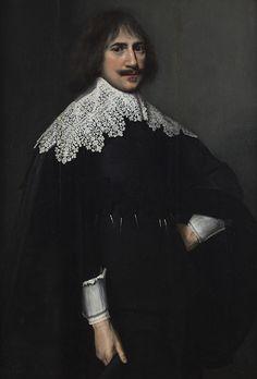 Nicolaes Eliasz. Pickenoy - Portret van een heer (1650)
