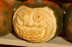 See more pumpkin faces at http://landscaping.about.com/od/galleryoflandscapephotos/ig/pumpkin-faces/