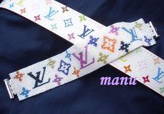 Beaded Bracelet Patterns, Bead Loom Patterns, Beading Patterns, Beaded Bracelets, Seed Bead Jewelry, Seed Bead Earrings, Beaded Jewelry, Loom Bands, Needlepoint Belts