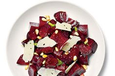 NYT Cooking: Roasted Beets With Pine Nuts and Parmesan
