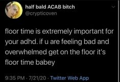 Adhd Facts, Adhd Brain, Mental Issues, Adhd And Autism, Mental And Emotional Health, Mental Illness, Tumblr Funny, Anxiety, Get On The Floor