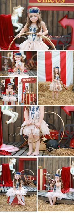 Circus Minis | Imagination Session | Mia | Raeford, NC Child Photographer | Patty K Photography