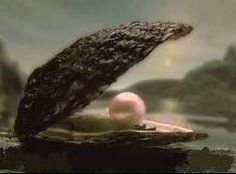 Without love, not a drop could become a pearl.