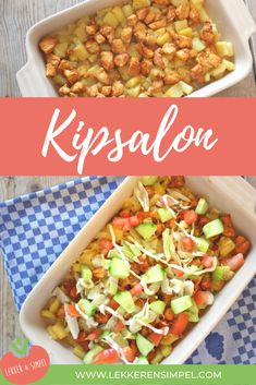 Chicken parlor - one of the most popular recipes from Lekker en Simpel Low Carb Vegetarian Recipes, Healthy Summer Recipes, Quick Healthy Meals, Super Healthy Recipes, Healthy Cooking, Quick Recipes, Popular Recipes, Food Porn, Soul Food