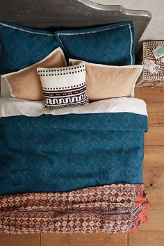 Perfect for the master bedroom!   -Garden Gate Coverlet #anthropologie