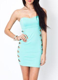cut-out tube dress $29.40