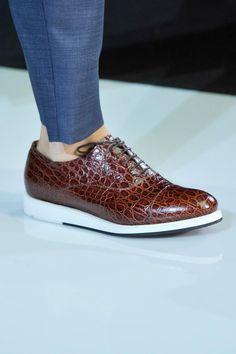 Giorgio Armani Menswear Collection for Spring/Summer 2013.