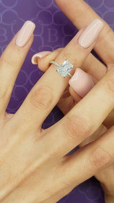 2 Carat Engagement Ring, Radiant Cut Engagement Rings, Dream Engagement Rings, Most Beautiful Engagement Rings, 2 Carat Diamond Ring, Radiant Cut Diamond, Diamond Cuts, Ring Verlobung, Shopping
