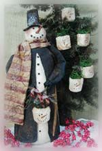 665 Peppermint Frost-snowman, candy cane