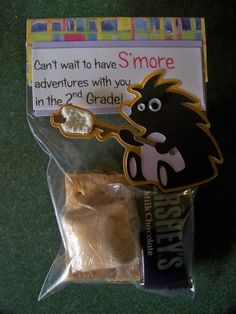 End of school year s'more gift - great for kids looping