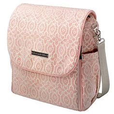 Versatile and practical, the Petunia Pickle Bottom Boxy Backpack Diaper Bag looks more like a chic purse than a diaper bag. The soft chenille fabric. Diaper Bag Backpack, Canvas Backpack, Diaper Bags, Diaper Bag Essentials, Diaper Changing Station, Changing Pad, Embossed Fabric, Baby Nursery Furniture, Nursery Ideas