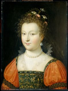 1550-1574 Anonymous - Portrait of a woman