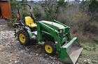 John Deere 4010 Compact Utility Tractor 4x4 ONLY 72 hours!  Price 6700.0 USD 12 Bids. End Time: 2017-01-22 23:13:57 PDT
