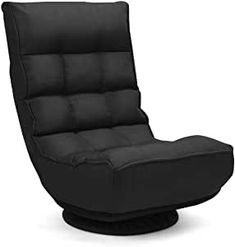 Giantex 360 Degree Swivel Gaming Chair, 4-Position Adjustable Folding Floor Chair Cushions On Sofa, Sofa Chair, Swivel Chair, Recliner Chairs, Bag Chairs, Lounge Chairs, Club Chairs, Dining Chairs, Couch