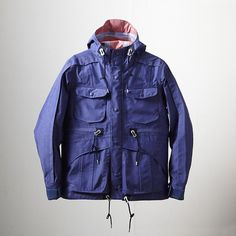 EYESCREAM x White Mountaineering 2012 S/S Capsule Collection Chambray GORE-TEX Mountain Parka
