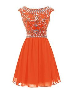 Wedtrend Women's Beaded Cap Sleeve Homecoming Dress Party Cocktail Dress Size 2 Orange Wedtrend http://www.amazon.com/dp/B014OW5TB4/ref=cm_sw_r_pi_dp_xqsawb1TF118S