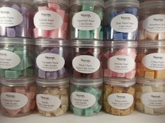 Sugar Cube Scrubs for Special Occasions - Wedding Favors - Baby Shower Favors - Bridal Shower Gifts - Hostess Gifts on Etsy, $5.00