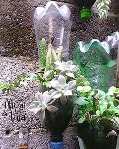 Reciclagem para produzir novos vasos