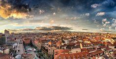 El cielo de Madrid desde el Hotel Atlántico (Gran Vía 38) Dominic Dähncke | Fotografía |