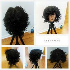 Full Weave w/Curls #cosmo2k16 #cosmetologist