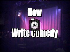 Being able to produce material on a consistent basis is one of the keys to succeeding in comedy. Whether you are a writer, or want to be a standup comic, you must be able to write material that has structure. I've been asked time and time again to give a demo on how to write . . . → Read More: How To Write Comedy | Video Tutorial