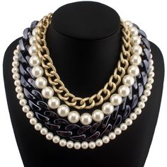 collar-de-perlas-blanco-plateado-dorado-accesorios-de-moda-13234-MLM20074866082_042014-F.jpg (850×850)