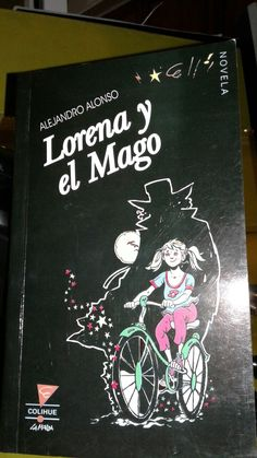 """Libro autografiado por Alejandro Alonso.""""Lorena y el Mago"""""""