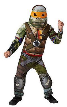 Boy's #deluxe movie tmnt teenage mutant ninja turtles fancy #dress #costume,  View more on the LINK: http://www.zeppy.io/product/gb/2/112263379811/