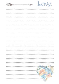 Printable Lined Paper, Free Printable Stationery, Printable Recipe Cards, Pretty Notes, Good Notes, Journal Paper, Journal Cards, Vintage Lettering, Stationery Paper