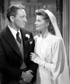 "Woman of the Year (1942) Spencer Tracy, Katherine Hepburn...""No one will ever believe we were married sober. """