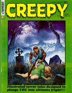 creepy+warren   Creepy #13 Horror Comic Magazine from Warren