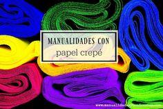 Manualidades con papel crepé que te encantarán http://manualidades.facilisimo.com