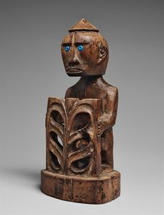 Papua, Indonesia, A KORWAR FIGURE #papua #indonesia #korwar #sculpture #art #oceanic #artauction #lempertz #brussels