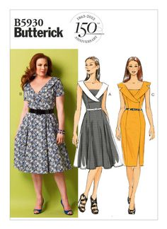 B5930   Butterick Patterns can easily make this longer