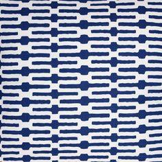 Pine Cone Hill Links Indigo Fabric by the Yard