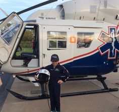 BilliJo joined the Air Methods team for the day as a flight paramedic. Thank you to Make-A-Wish for letting us be a part of BilliJo's special day.