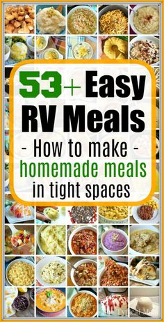 RV meals to prepare when you're camping or on a road trip! How to make homemade … RV meals to prepare when you're camping or on a road trip! How to make homemade … – The Typical Mom – RV meals to prepare when you're camping or on a road … Rv Camping Recipes, Camping Cooking, Camping Foods, Camping Dishes, Camping Hacks, Healthy Camping Meals, Camping Activities, Backpacking Recipes, Camping Food Make Ahead