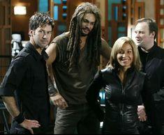 I miss Atlantis so much :(( - Lt Col John Sheppard, Ronon Dex, Teyla, Dr. Rodney McKay