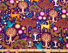 Michael Miller 'Fantasy Forest' de toddlin town fabrics sur DaWanda.com